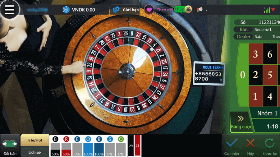 Game Roulette